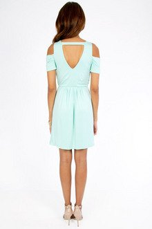 Vickii Cutout Shoulder Dress $25