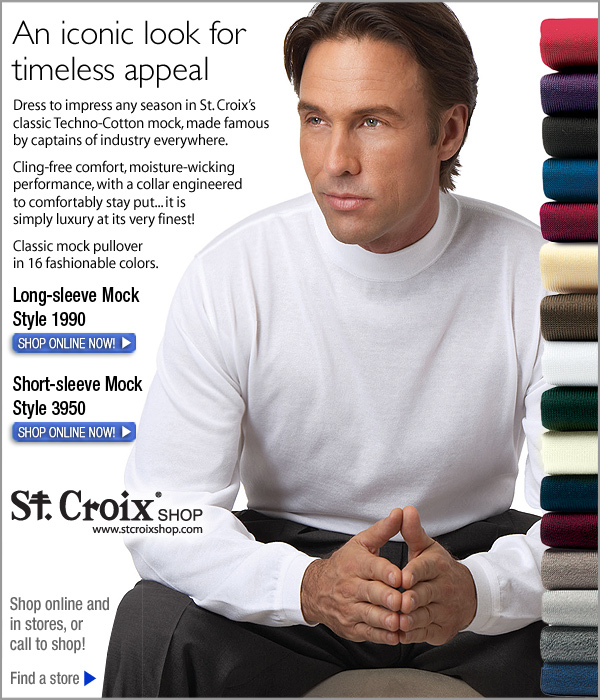 Classic Long-Sleeve Mock - Style 1990