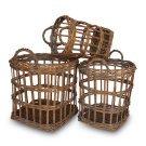 Anthony Wicker Baskets - Set of 3