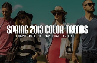 Spring 2013 Color Trends