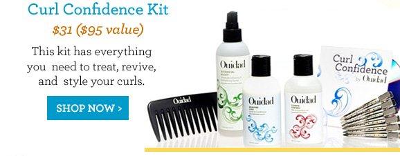 Curl Confidence Kit $31 ($95 value) Shop Now
