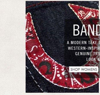 Bandana - Shop Womens