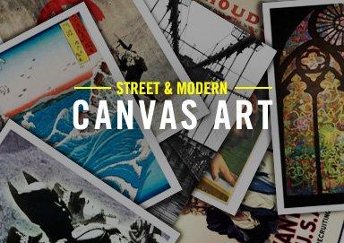 Shop Street & Modern Canvas Art