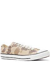The Chuck Taylor All Star Lo Camo Print Sneaker in Safari