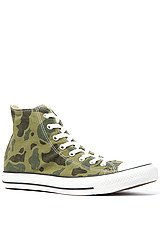 The Chuck Taylor All Star Camo Print Sneaker in Olive Branch