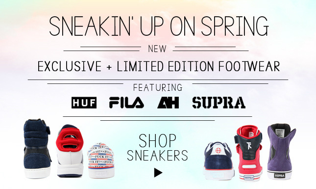 Sneakers on Point: Step up your game with Supra's, Vans, and other exclusives
