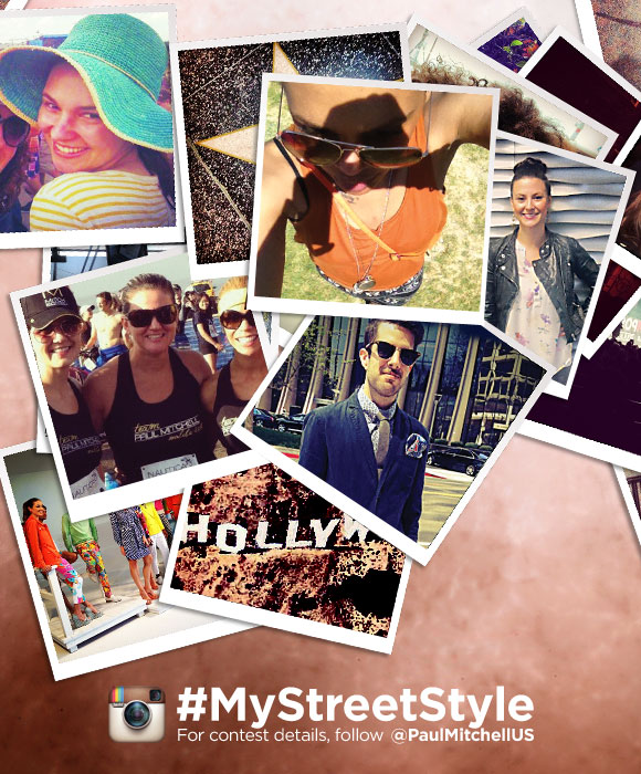 #MyStreetStyle For contest details, follow @PaulMitchellUS