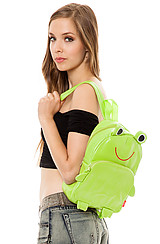 The Frog Backpack