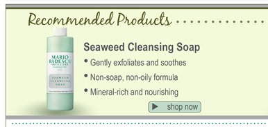Seaweed Cleansing Soap - Gently exfoliates and soothes; Non-soap, non-oily forumla; Mineral-rich and nourishing