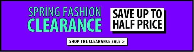 Shop The Clearance Sale