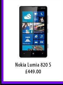 Nokia Lumia 820 S