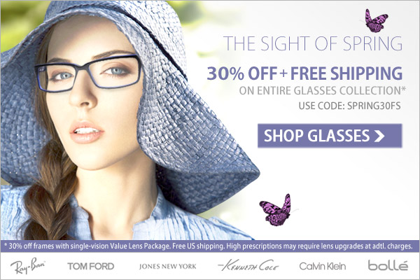 Sight of Spring - 30% Off + Free Shipping!