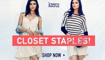 Love21 Closet Staples! - Shop Now