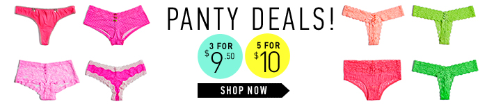 Panty Deals! - Shop Now