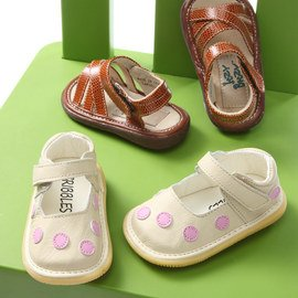 Squeaky Steps: Toddler Shoes