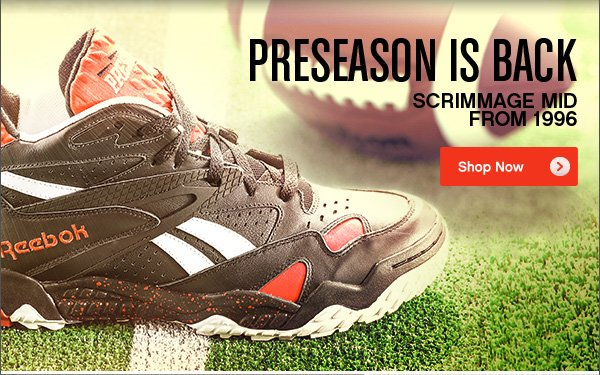 PRESEASON IS BACK. Shop Now›