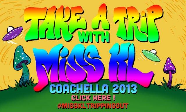 Take a trip with Miss KL to Coachella