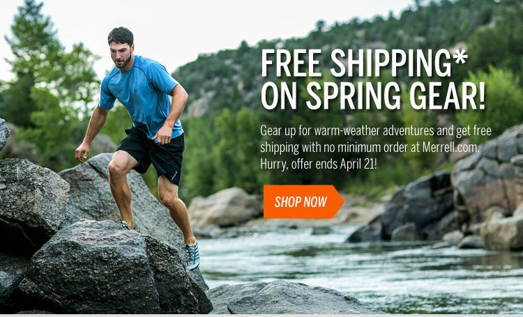 Free Shipping on Spring Gear Shop Now