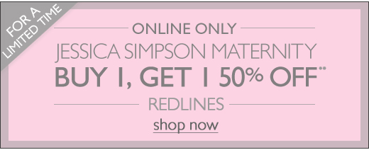 Jessica Simpson BOGO Redlines