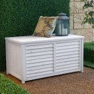 Gardener's Choice White Wash Deck Box