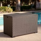 Fiji Bay All-Weather Wicker Deck Box