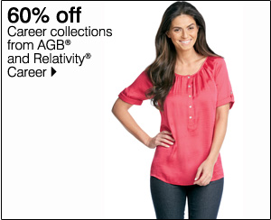 60% off Career collections from AGB® and Relativity® career. Shop now.