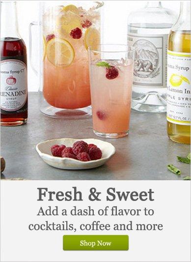 Add a dash of flavor - Shop Now