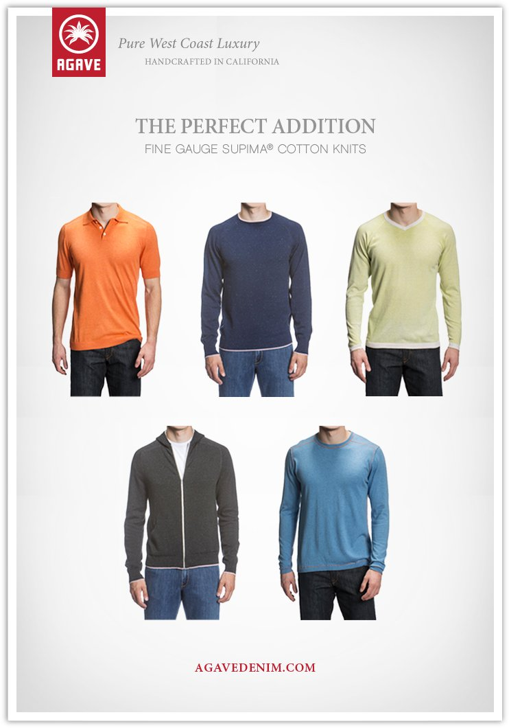 The Perfect Addtition | Fine Gauge Supima Knits