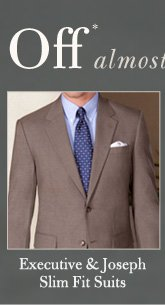 Executive & Joseph Slim Fit Suits - Over 60% Off*