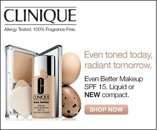 Clinique. Even Better Makeup. SPF 15 Liquid or NEW compact. Shop now.