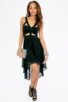 Cut and Flare Dress $40