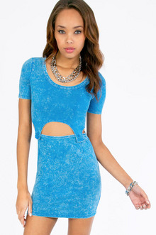 Button Mini Dress $33