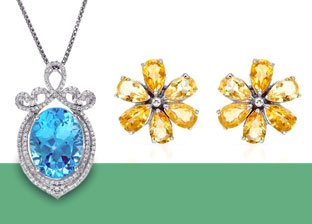 Color For Her: Mixed Gemstone Jewelry