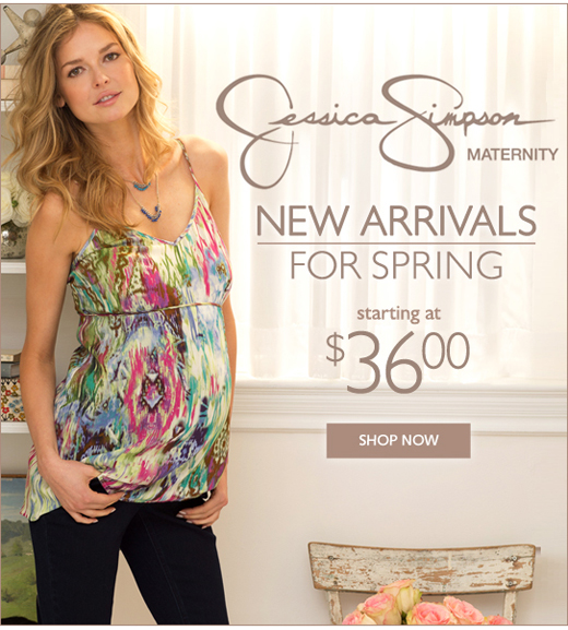 New Jessica Simpson Spring Styles