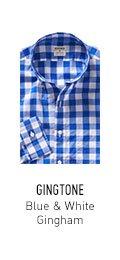Gingtone Blue & White