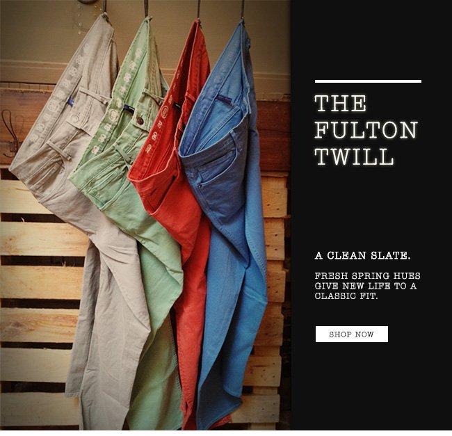 Shop The Fulton Twill