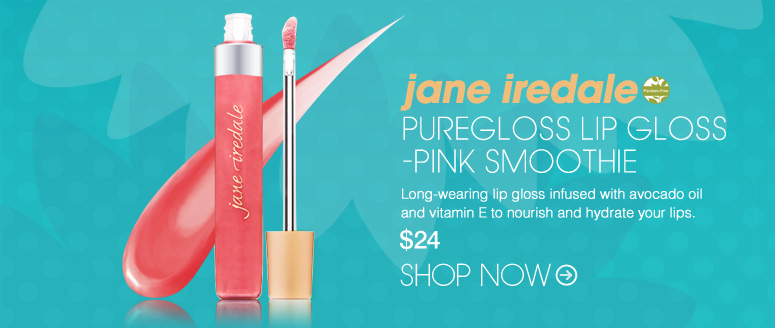 Paraben-free jane iredale PureGloss Lip Gloss Long-wearing lip gloss infused with avocado oil and vitamin E to nourish and hydrate your lips. $24 Shop Now>>