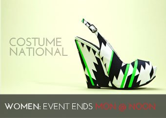 COSTUME NATIONAL - WOMEN'S SHOES