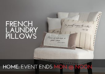 FRENCH LAUNDRY PILLOWS - HOME