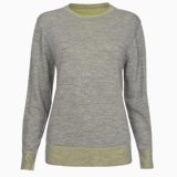 Grey Marl Reversible Jumper