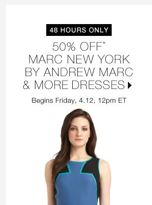 50% Off* Marc New York By Andrew Marc & More...Shop Now