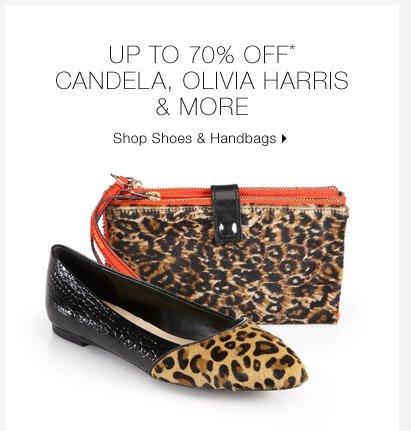 Up To 70% Off* Candela, Olivia Harris & More
