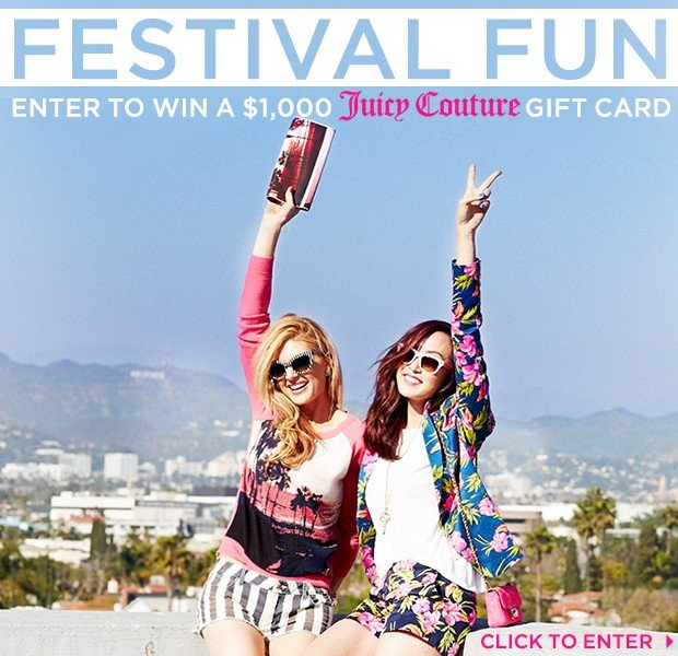 Enter For A Chance To Win Juicy Couture's Stylish Prizes