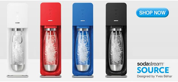 Sodastream Source   Now Available!
