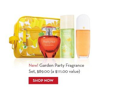 New! Garden Party Fragrance Set, $89.00 (a $111.00 value). SHOP NOW.