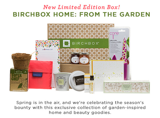 New Limited Edition Box: From the Garden
