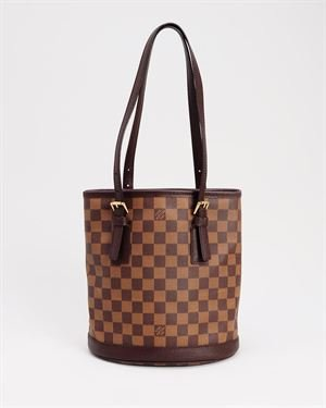Louis Vuitton LN Damier Marais Buckle Tote Bag- Made in France