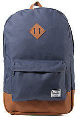 The Heritage Backpack in Navy