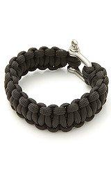 The Paracord Bracelet in Black