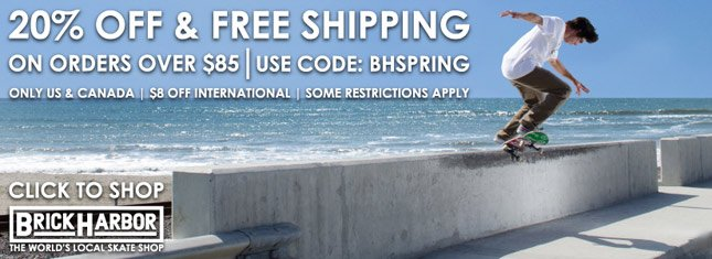 Brick Harbor: 20% Off + Free Ship on orders over $85